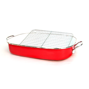 Roaster Pan with Metal Rack