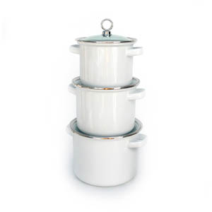 3 PC Stock Pot Set