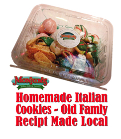 Homemade Italian Holiday Cookies
